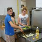 Préparation du repas français